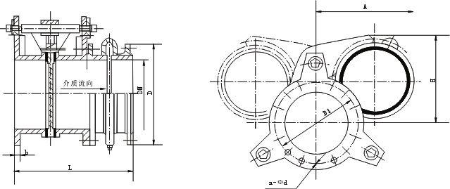 F43X扇形盲板阀
